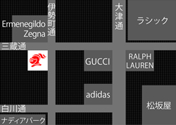 (「ラブレス名古屋」 MAP)