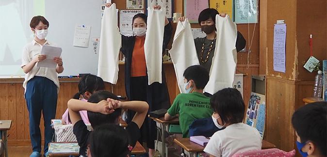 2021年 服育授業@津久戸小学校