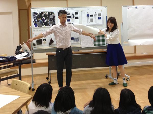 2014年 服育授業@天沼小学校