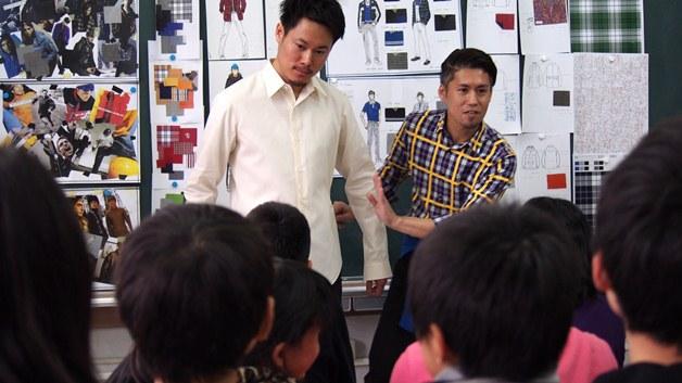 「服育」の一環として服育授業をスタート