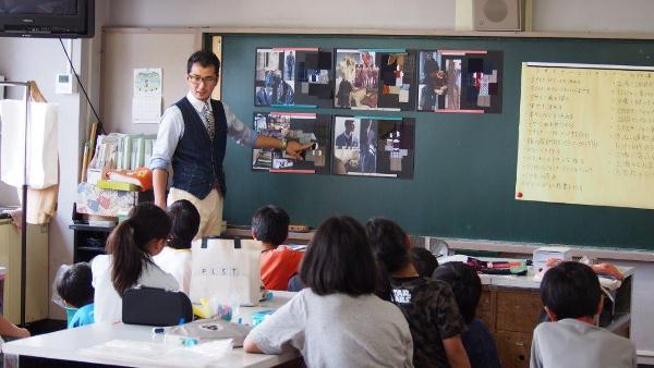 2015年 服育授業@駒本小学校